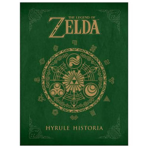 The Legend of Zelda Hyrule Historia Hardcover Book