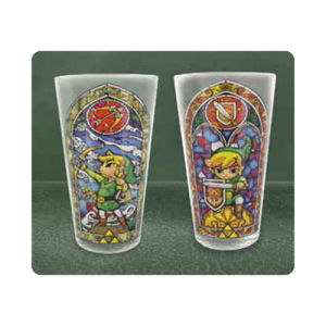 The Legend of Zelda Links Glass