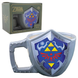 The Legend of Zelda Hyrulian Shield Mug