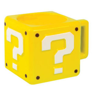 Super Mario Bros. Question Block Mug