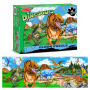 Land Of Dinosaurs Floor 48 Piece Puzzle. Extra thick puzzle pieces.