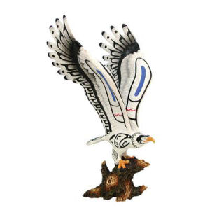 Westland Giftware On Eagles Wings Inuit Eagle Figurine