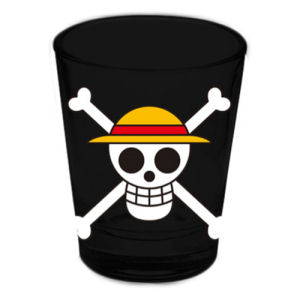 One Piece Straw Hat Pirates Jolly Roger Shot Glass