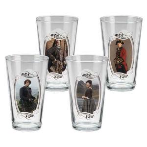 Outlander 16 Ounce Glass 4 Pack