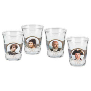 Outlander Shot Glass 4 Pack