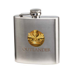 Outlander 6 Ounce Stainless Steel Flask