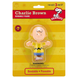 Charlie Brown 4 inch Bendable Figurine
