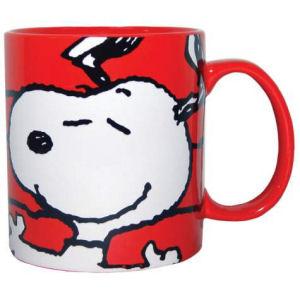 Peanuts Snoopy Face 14 Ounce Stoneware Mug