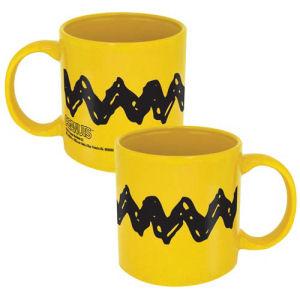 Peanuts Charlie Brown Zig Zag 20 Ounce Ceramic Mug