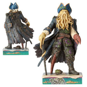 Disney Traditions Pirates of the Caribbean Davy Jones Statue.