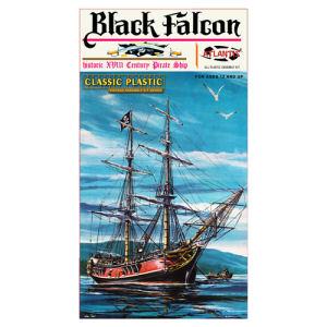 Black Falcon Pirate Ship Classic 1/100th Scale Plastic Model Kit