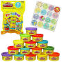 Play-Doh Party Bag Case. Contians 15 cans of Play Doh with 15 gift tags. Ages 2 and up.