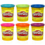 Play-Doh Single Can Assortment 1 Wave 2 Case. Case includes 36 individually packaged canisters - 6 BRIGHT GREEN - 6 PURPLE - 6 ORANGE - 6 TROPICAL PINK - 6 BLUE - 6 BRIGHT BLUE.