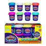Play-Doh Plus Variety Pack. Includes 8 one ounce cans of PLAY-DOH Plus compound. Colors may vary. Ages 2 and up.