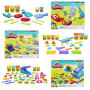 Play-Doh Tools and Playsets Packs Wave 1. Case includes 3 individually packaged playsets - 1 FUN FACTORY SUPER SET - 1 TOOLIN AROUND PLAYSET- 1 BREAKFAST TIME SET.