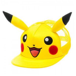 Pokemon Pikachu Big Face Trucker Hat.