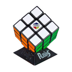 Rubiks Cube with Display Stand