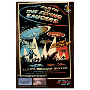 Earth vs. the Flying Saucers UFO 2nd Edition 5 Inch Model Kit with Light