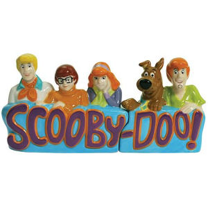 Scooby-Doo and Gang Salt and Pepper Shakers