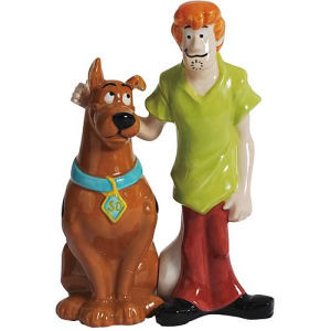 Scooby-Doo and Shaggy Salt and Pepper Shakers