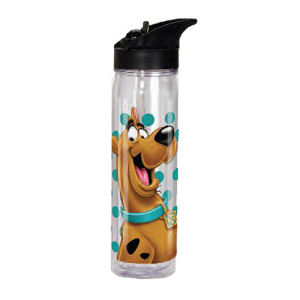 Scooby-Doo Face Flip-Top Water Bottle