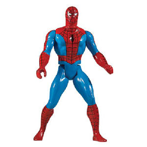 Spider-Man Red Version Marvel Secret Wars Jumbo Action Figure.
