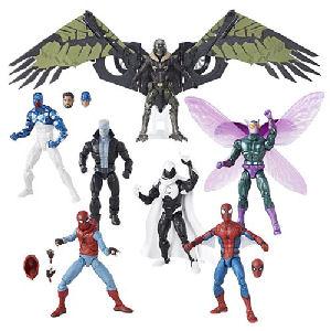 Amazing Spider-Man Marvel Legends Figures Wave 8 Case