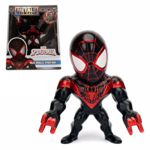 Spider-Man Miles Morales 4 Inch Metals Die-Cast Action Figure.