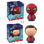 Spider-Man: Homecoming Dorbz Vinyl Figure. Dorbz Vinyl Figures measure approximately 3 inches tall and comes packaged in a window display box. Ages 3 and up.