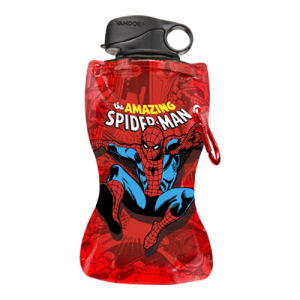 Spider-Man 12 Ounce Collapsible Water Bottle