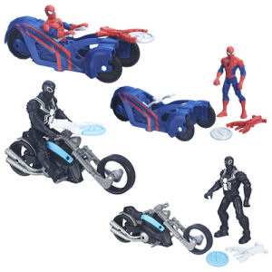 Spider-Man 6 Inch Action Figures with Cycles Wave 1 Case