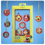 SpongeBob SquarePants 1.25 Inch Resin Ornament 5 Pack. Includes - 1 SpongeBob - 1 Patrick - 1 Sandy - 1 Squidward - 1 Plankton.
