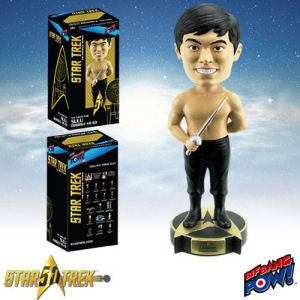 Star Trek The Original Series The Naked Time Sulu Bobble Head