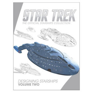 Star Trek Designing Starships Volume #2 Book