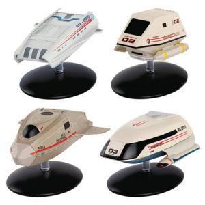 Star Trek Starships Shuttlecraft Set #3 Part 2 Die-Cast Metal Vehicles