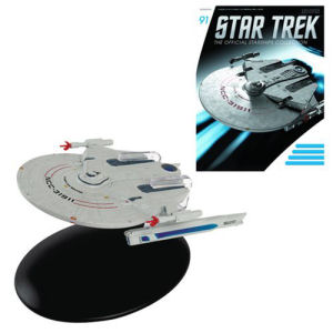 Star Trek Starships U.S.S. Saratoga Die-Cast with Collector Magazine #91