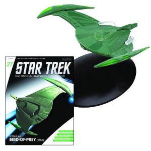 Star Trek Starships Romulan Bird of Prey Vehicle with Collector Magazine