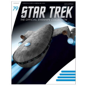 Star Trek Starships Harry Mudds Class J Ship Die-Cast Vehicle with Collector Magazine #79