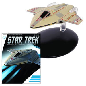 Star Trek Starships Academy Fighter Die-Cast Metal Vehicle with Collector Magazine #97
