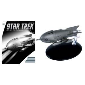 Star Trek Starships Captain Protons Rocket Ship Vehicle with Magazine #111