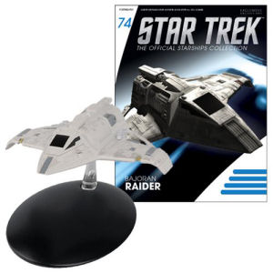 Star Trek Starships Bajoran Raider Vehicle with Collector Magazine