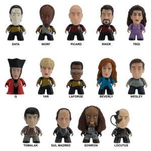 Star Trek The Next Generation Titans Make It So Collection Mini-Figure Case