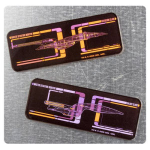 Star Trek LCARS Magnet 2-Pack