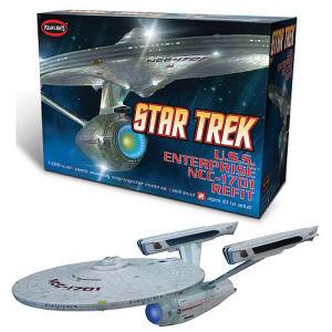 Star Trek USS Enterprise NCC-1701 Refit 1/1000th Scale Model