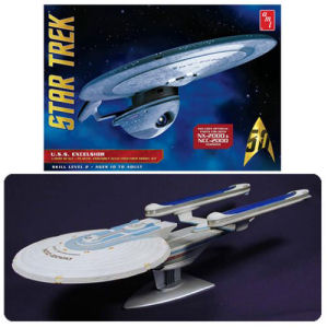 Star Trek U.S.S. Excelsior 1/1000th Scale Model Kit