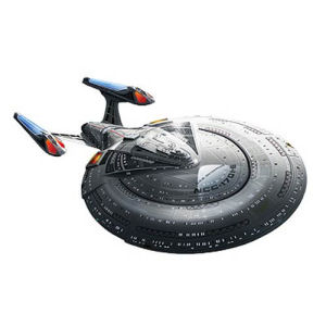 Star Trek U.S.S. Enterprise 1701-E 1/1400th Scale Model Kit