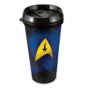 Star Trek 16 Ounce Plastic Travel Mug