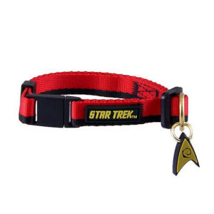 Star Trek The Original Series Red Uniform Cat Collar