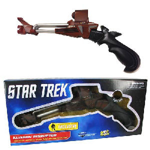 Star Trek III Search for Spock Klingon Disruptor Prop Replica