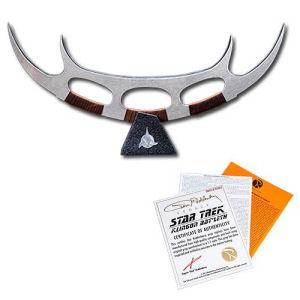 Star Trek Klingon Batleth Prop Replica